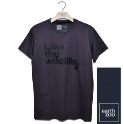 T-shirt Earth Zoo Masculina - Love the Wild Life Chumbo
