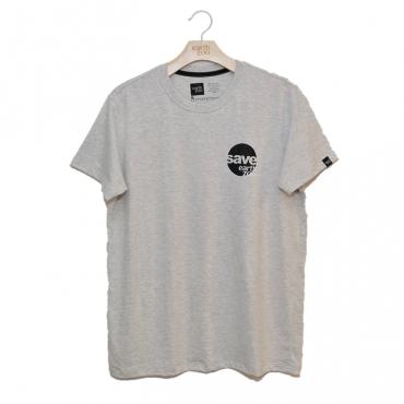 T-shirt Earth Zoo Masculina - Gorilla Back Cinza